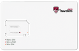 Travelers Wifi Data SIM Unlimited 4G+