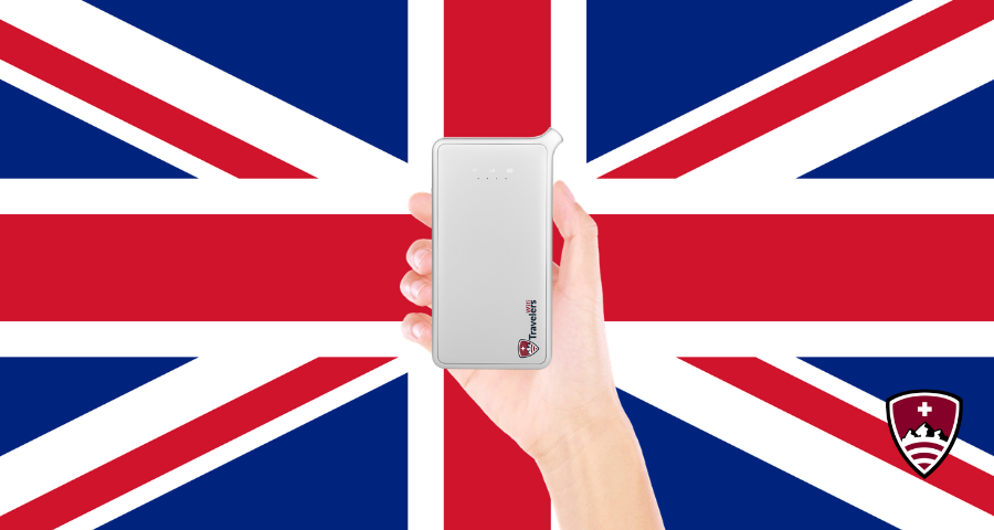 Travelers Wifi สำหรับ UK