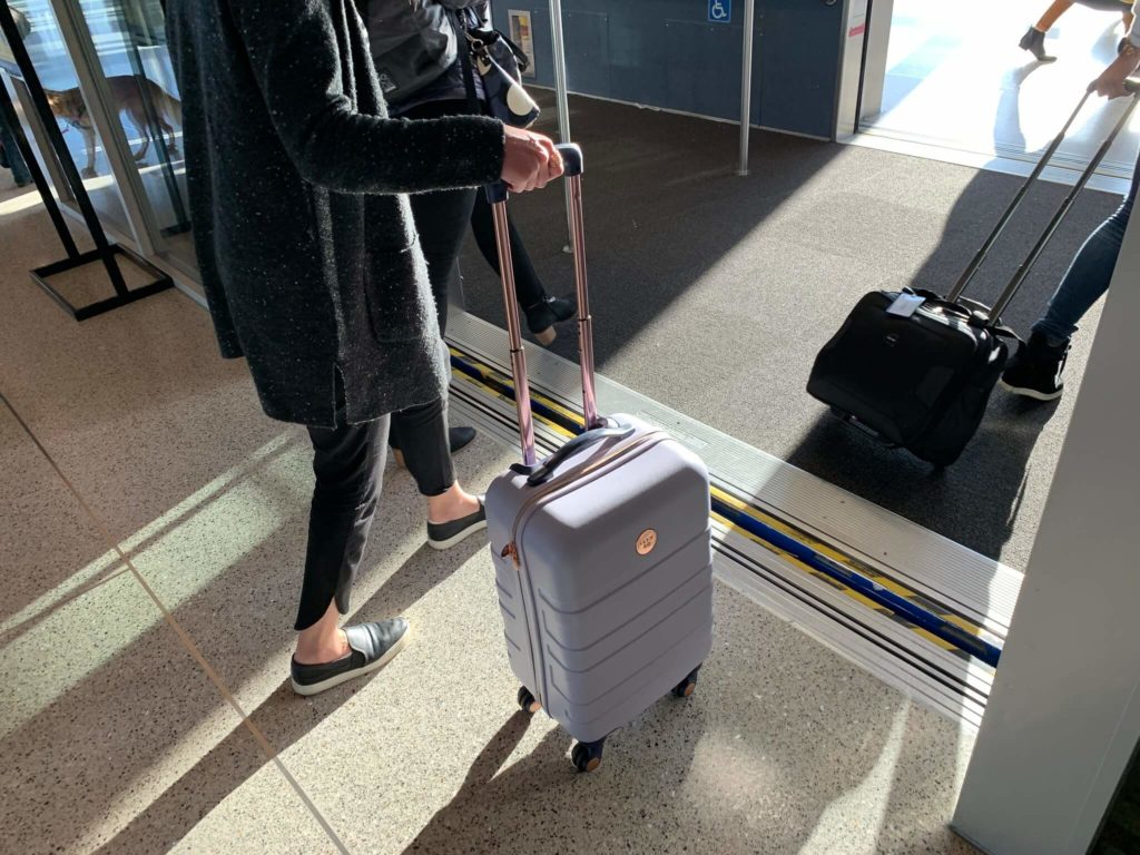 luggage collection in Switzerland