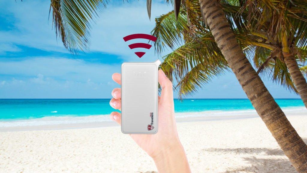 travelers wifi in Caribbean